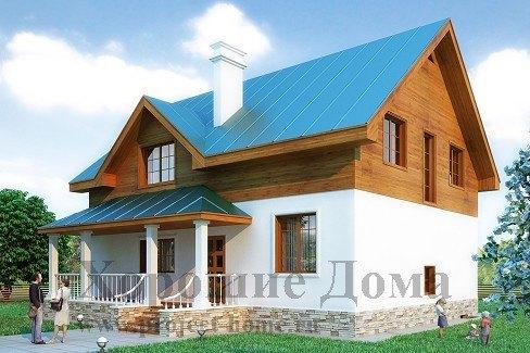 Дом из керамических блоков 12x12.7 254.1 кв.м.