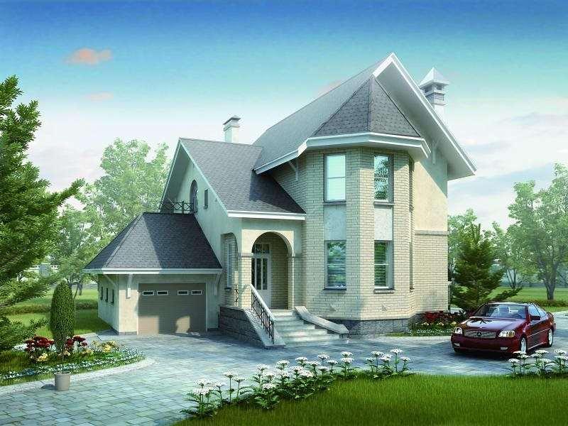 Каталог проектов домов и коттеджей | Дома из кирпича и газобетона