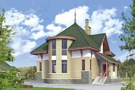 Дом из газоблоков 9 х 12,5. Каталог проектов домов