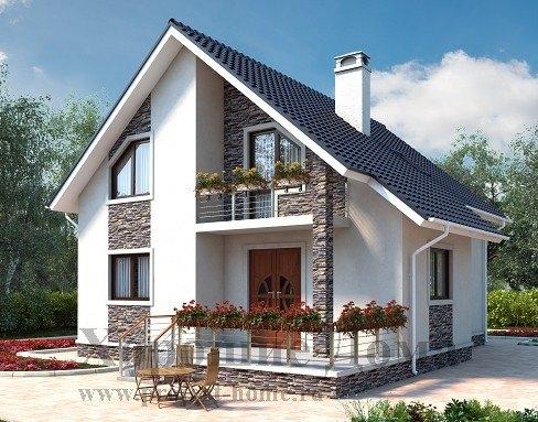 Проекты деревянных домов и коттеджей из