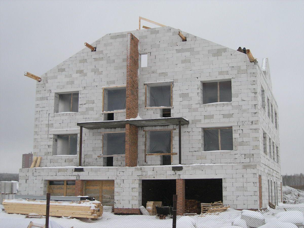 Строительство газобетонных домов